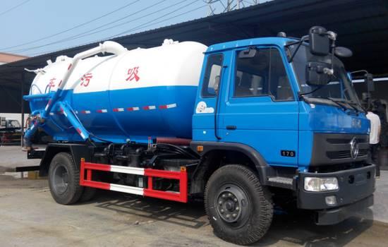 18吨吸污车配置参数厂家价格介绍