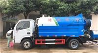 6吨清洗吸污车配置参数厂家价格介绍