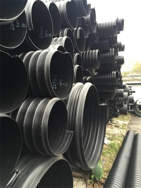 钢带增强聚乙烯 pe 螺旋波纹管