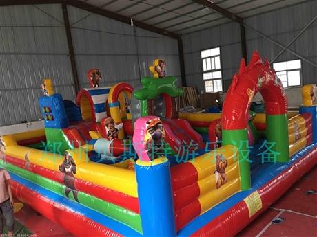 河南洛阳充气城堡新款优惠厂家直销贝斯特制造