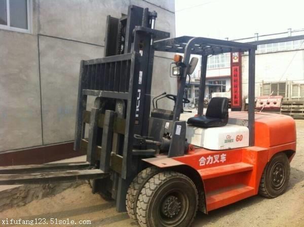 5吨柴油叉车多少钱哪卖二手合力叉车唐山