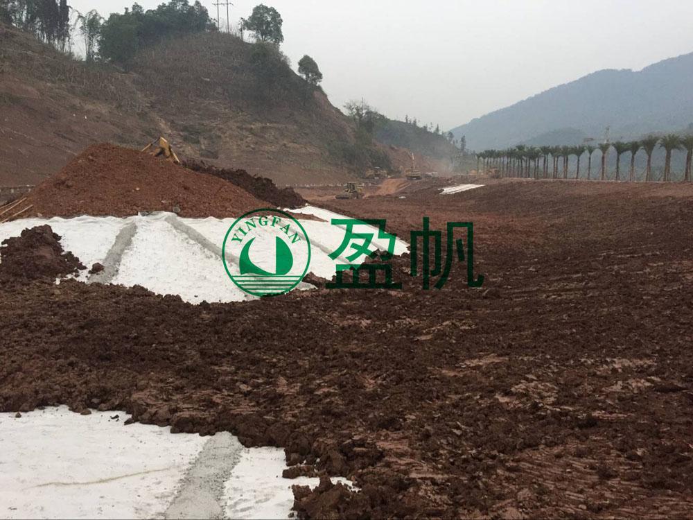 四川土工膜廠家 填埋場用長絲土工布 短絲土工布