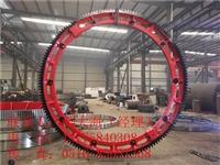 建奎2.0米滾筒造粒機配套鑄鋼對開式轉鼓造粒機大齒輪