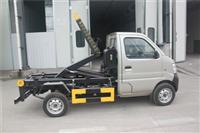 长安车厢可卸式垃圾车勾臂垃圾车参数配置及价格介绍