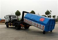 东风145勾臂式垃圾车配置参数及厂家价格介绍
