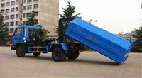 东风153拉臂式垃圾车配置参数及厂家价格介绍