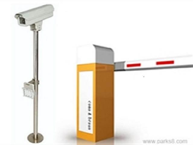 小区商超出入口停车场管理系统 简易车牌识别系统