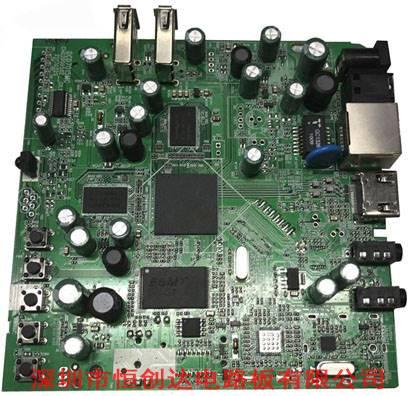 4k高清电视pcba电路板