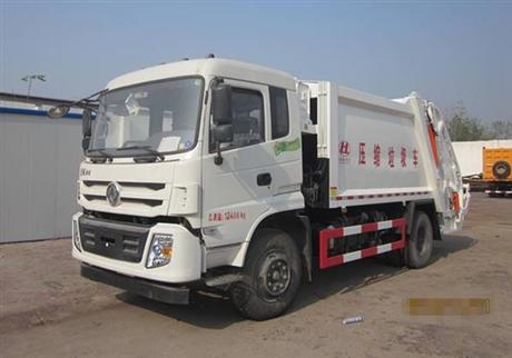 东风特商12方压缩式垃圾车厂家价格及配置参数介绍