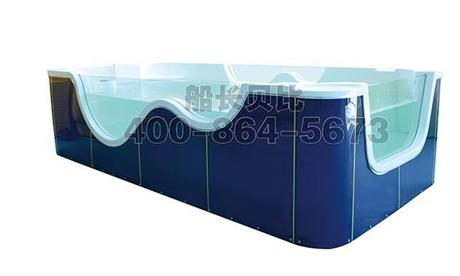 湖南长沙儿童游泳池进口医用级别亚克力七彩水线灯冲浪气泡按摩