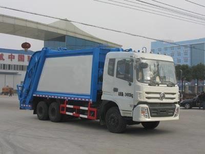 东风18方压缩式垃圾车多少钱东风18方压缩式垃圾车厂家价格介绍