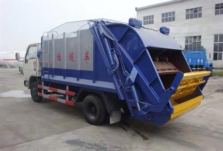 东风福瑞卡压缩式垃圾车多少钱东风福瑞卡压缩式垃圾车厂家价格