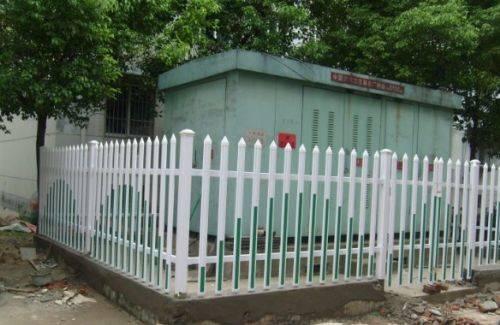 供应电力塑钢围栏 pvc变压器围栏 交通隔离护栏 规格 多种