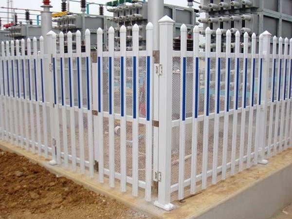 供应电力塑钢围栏 PVC变压器围栏 交通隔离护栏
