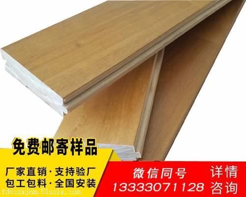 篮球木地板材质分类 24厚度体育馆硬木地板