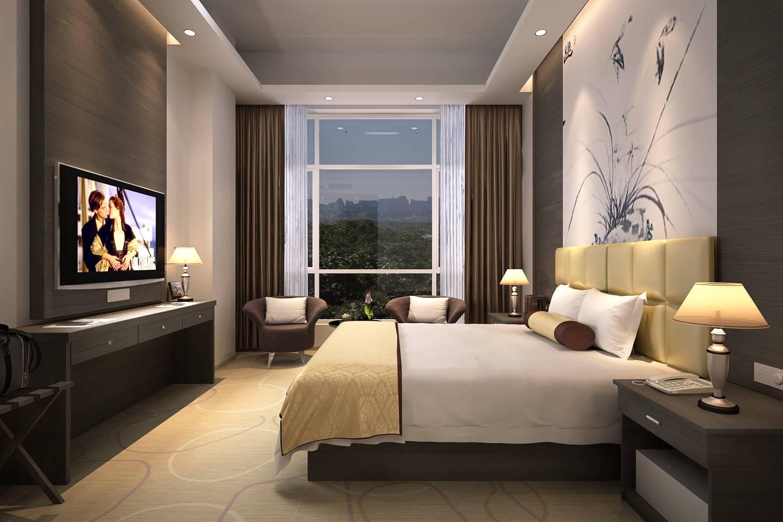 宾馆旅馆酒店设计效果图设计制作表现