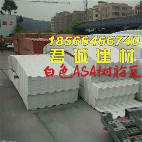 衡阳新型屋面建材合成树脂瓦批发  树脂瓦多少钱一平方