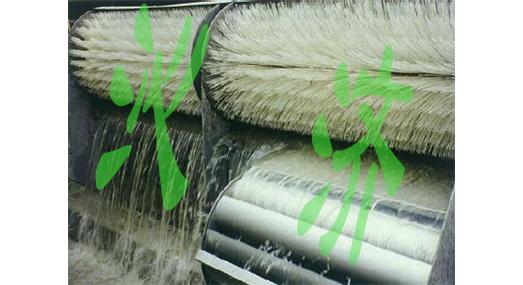 水力自洁式滚刷