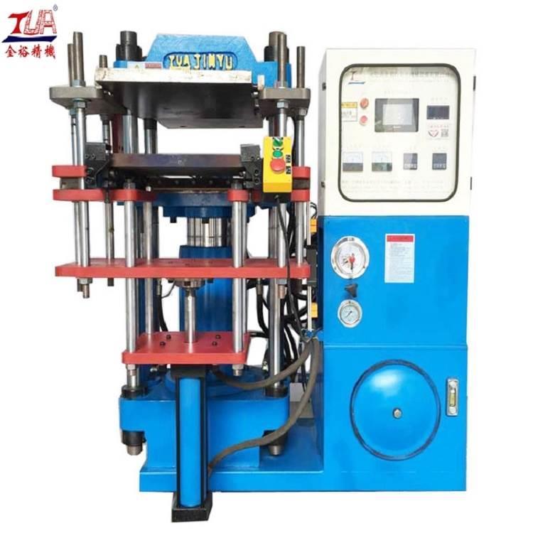 小型硅胶模压机 四柱油压机 固态硅胶平板硫化机厂家