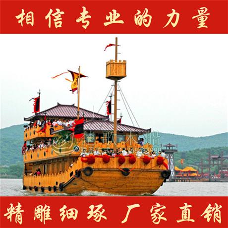 供应陕西22米影视道具船 大型画舫船