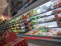 风幕柜定做,风幕柜果蔬冷藏柜,风幕柜超市柜