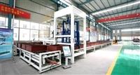 发泡保温板设备无机水泥发泡保温板生产线自动切割