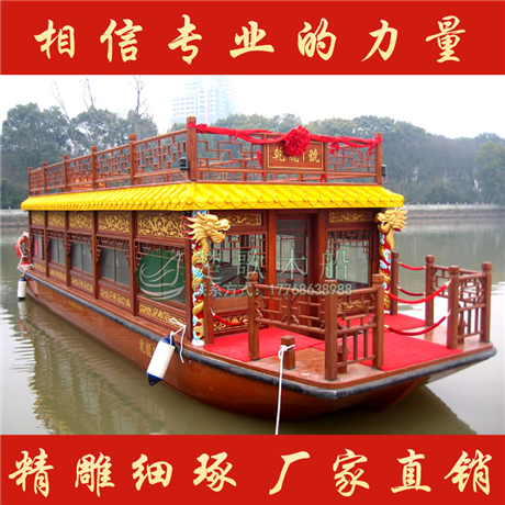 供应广西12米双层画舫船 水上观光船