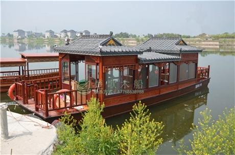 供应湖南永州10米画舫船  价格实惠