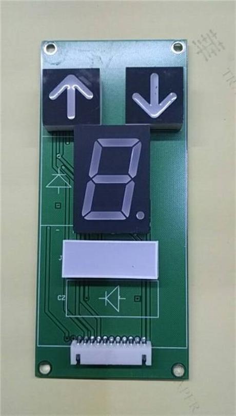 十进码显示板/餐梯十进码显示板/七段码餐梯显示板价格