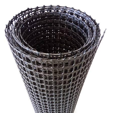 塑料双向土工格栅GGR/PP/BS30-30网孔6cm