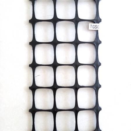 幅宽四米GSL25塑料双向土工格栅
