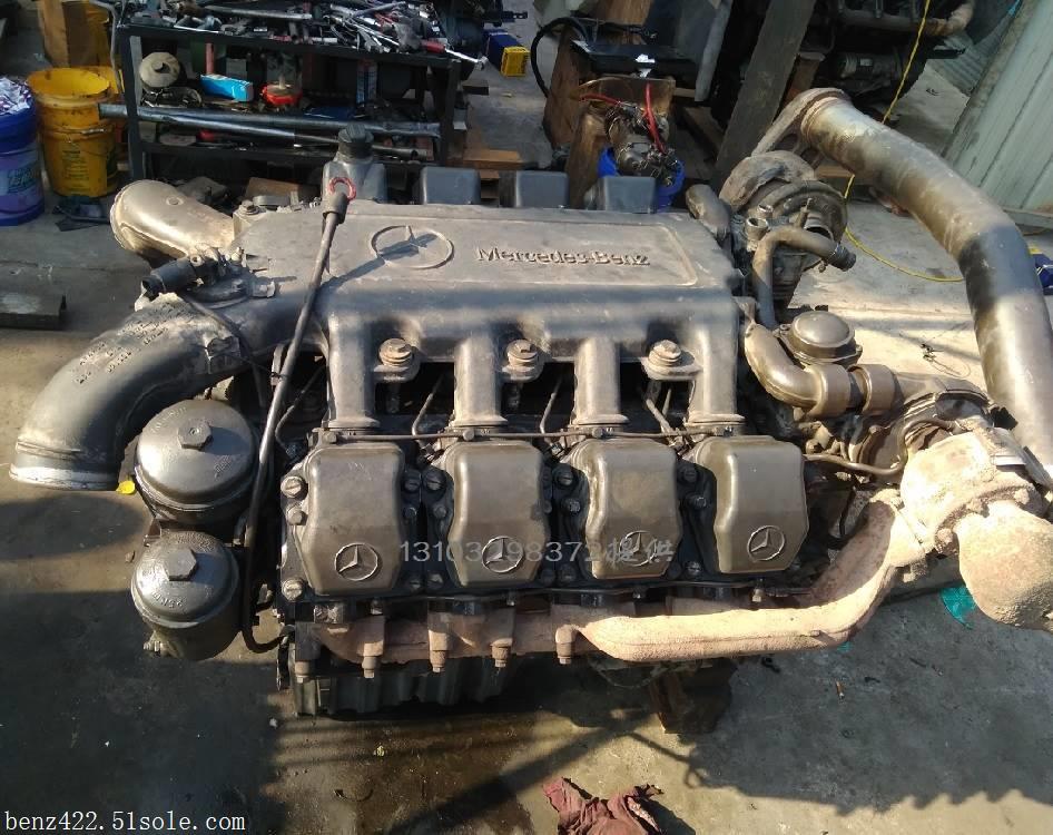 奔驰OM502LA 610 发动机总成