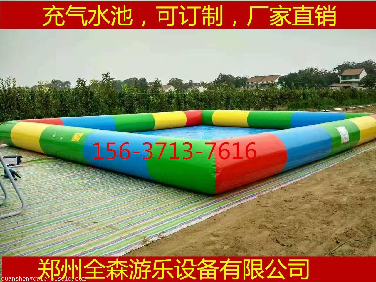 儿童充气水池/充气游泳池/可移动支架水池订制