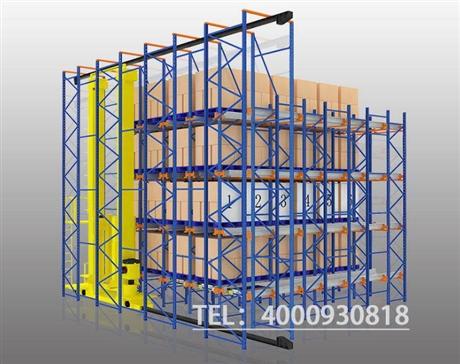 AGV小车自动化立体库设计,堆垛架结合穿梭车立体库货架定制