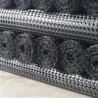 塑料双向土工格栅GGR/PP/BS45-45宽度五米