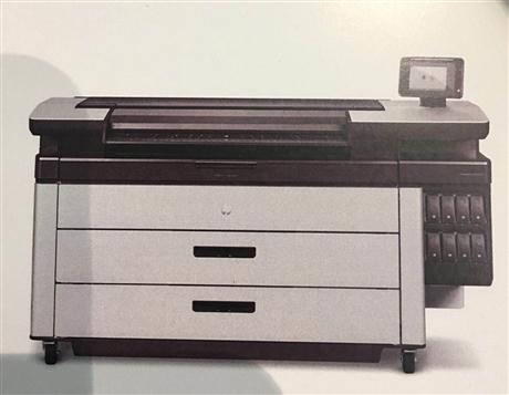 HP Page Wide XL 5000数字蓝图机