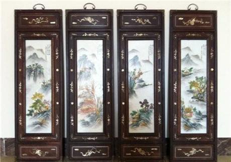 王跃林瓷板画值多少钱哪里现金收购好