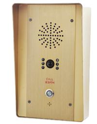 IP网络紧急报警求助分机 可视防爆防水 学校部队一键按钮呼对讲