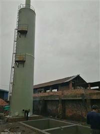 真旺SCT玻璃钢脱硫塔 砖厂脱硫塔设备