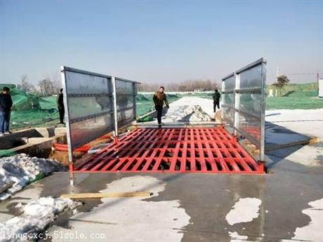 韩强建筑工地洗车机 大型车辆环保洗轮机