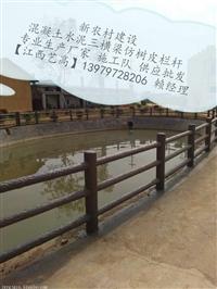 江西河道优质仿木护栏生产制作