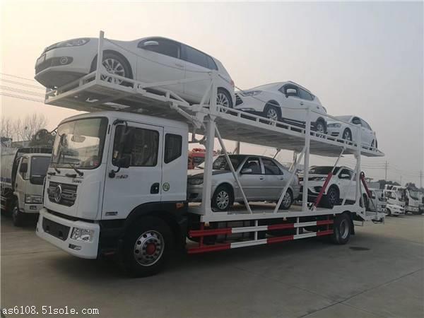 国五天锦一拖四轿运车商品车运输