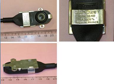 Crouzet 83123小型高密封微动