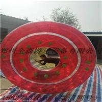 充气水上步行球滚筒价格/大型移动水上乐园游乐设备