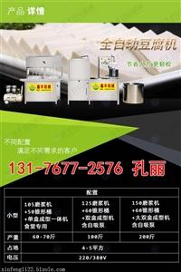 朔州全自動豆腐皮機  豆腐加工設備的生產視頻  鑫豐直銷豆腐機