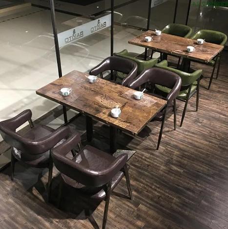 工业风桌子火锅桌