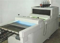 丝网印刷UV油墨的紫外线(UV)光固化机