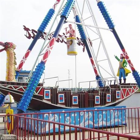 海盗船游乐设备厂家|大型游乐场海盗船