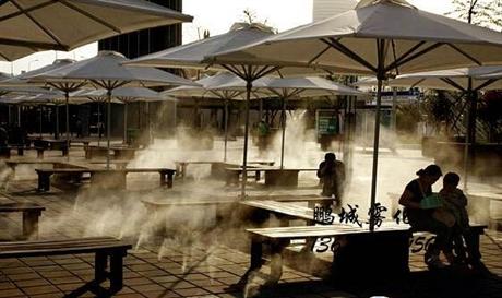 喷雾降温设备 商业街喷雾降温
