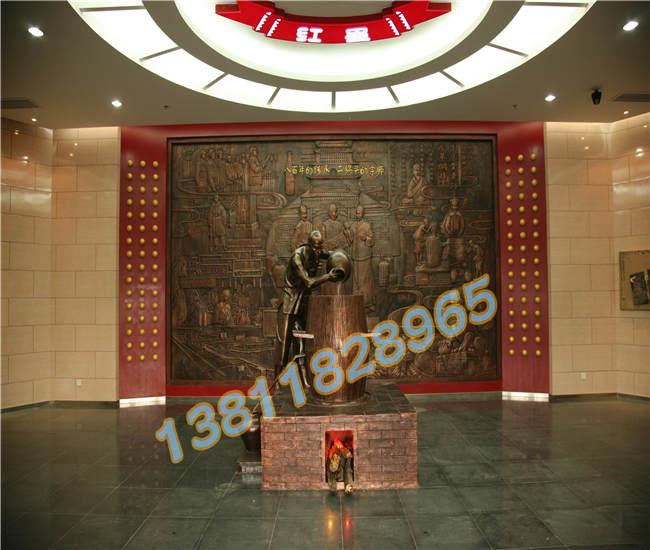 紅銅浮雕價格,紫銅壁畫加工廠,北京銅雕廠